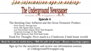 Underground Newspaper: Episode 4 - Inflation vs GDP / What is a Home Worth?
